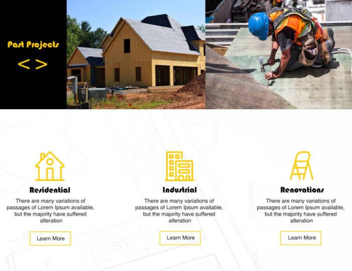 Mock Website Design